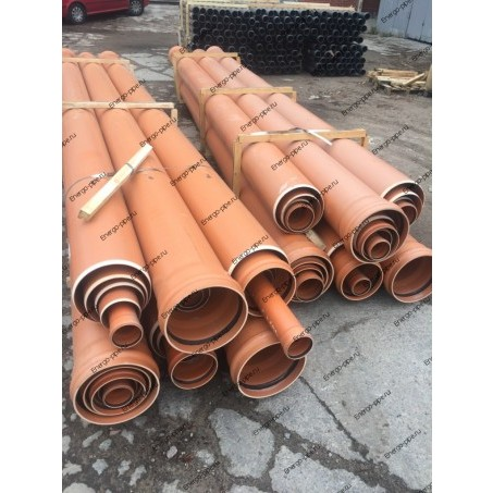 Труба ПВХ канализационная Dn 160 мм х 4,0